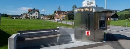 Neubau Bancomat, Hundwil
