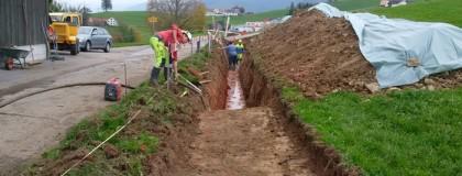 Wasserleitung Büel – Schedlern, Stein