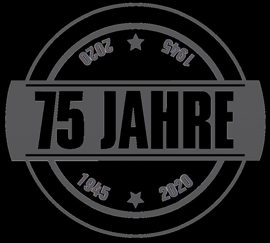 Emblem 75 Jahre Preisig AG, Bauuntenehmen